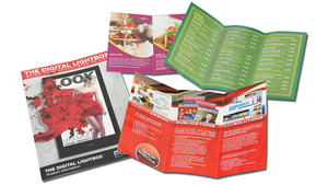 A4 fold to DL: 150gsm (6pp DL Brochure)